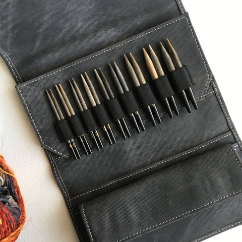 "LYKKE | 3.5"" INTERCHANGEABLE CIRCULAR KNITTING NEEDLE SET"
