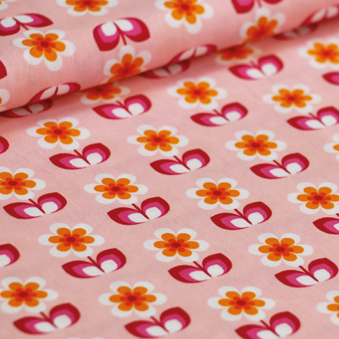 soft cactus fabric whoopsy dasy pink