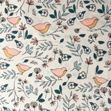 Art Gallery Fabrics Lovebirds Celeste