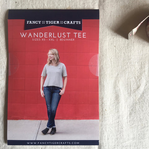 Fancy Tiger Crafts WanderLust Tee