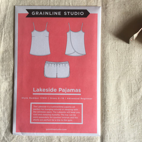 Grainline Studio Lakeside Pajamas