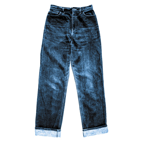 MERCHANT & MILLS HEROINE JEANS KIT IN SELVEDGE DENIM