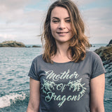 Ladies' T-Shirt - Mother Of Dragons (Leafy Sea Dragon)