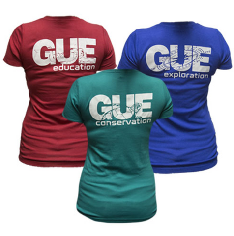 GUE Women's Mission V-Neck Shirts