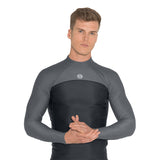 Men's Thermocline Long-Sleeved Top (Back-Zip)