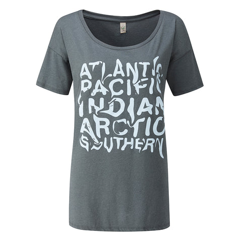 Ladies' T-Shirt - Five Oceans