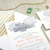 Legare Waring House Wedding Invitation - Charleston, SC