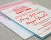 Letterpress Lowndes Grove Wedding Invitation by Scotti Cline Designs