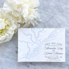 Nautical Charleston Map Save the Date