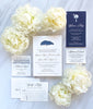 Middleton Place Oak Tree Wedding Invitation by Scotti Cline Designs