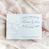Boston Map Save the Date by Scotti Cline Designs | Photo by Dana Cubbage Weddings