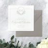 Classic Monogram Square Save the Date by Scotti Cline Designs