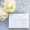 Saint Simons Island Map Save the Date by Scotti Cline Designs