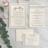 Newport Bridge Wedding Invitation