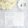 Chesapeake Bay Wedding Invitation by Scotti Cline Designs