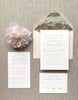 Classic Script Wedding Invitation by Scotti Cline Designs