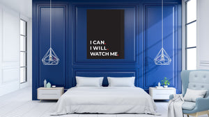 I can. I will. Watch me.