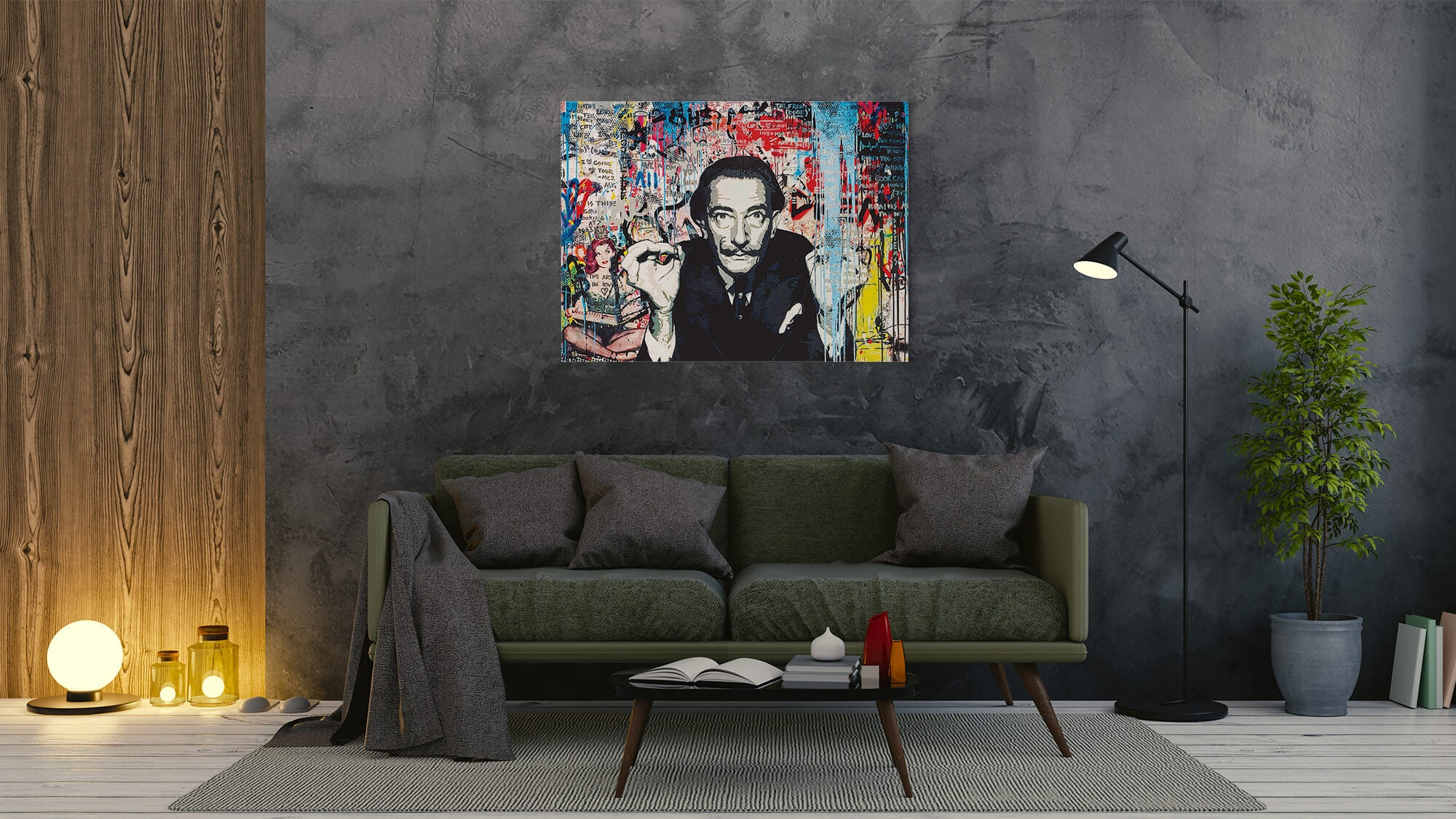 Dali - canvas-to-the-people - Exclusive Canvas Art Shipped Globally