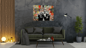 Michael Corleone - canvas-to-the-people - Exclusive Canvas Art Shipped Globally