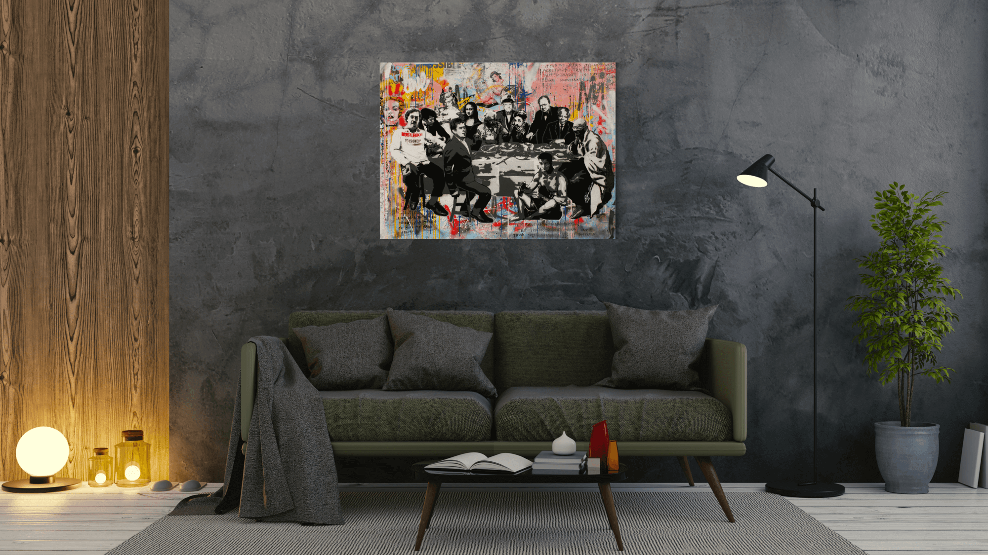 The Last Supper - canvas-to-the-people - Exclusive Canvas Art Shipped Globally