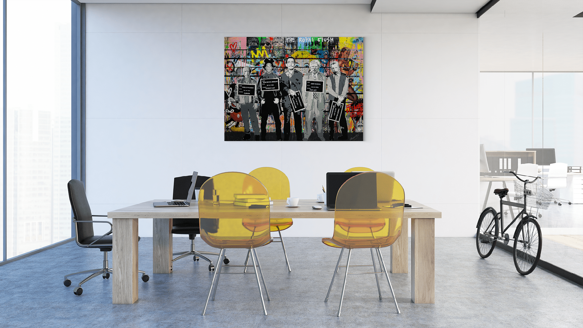 The Royal Flush - canvas-to-the-people - Exclusive Canvas Art Shipped Globally