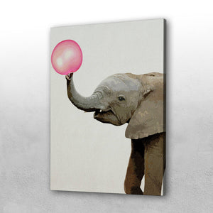 Bubble gum Elephant