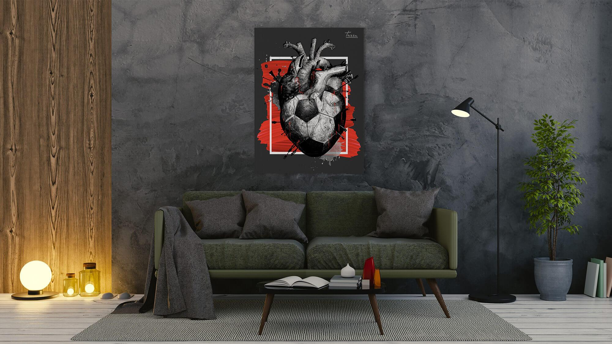 Football Passion - canvas-to-the-people - Exclusive Canvas Art Shipped Globally