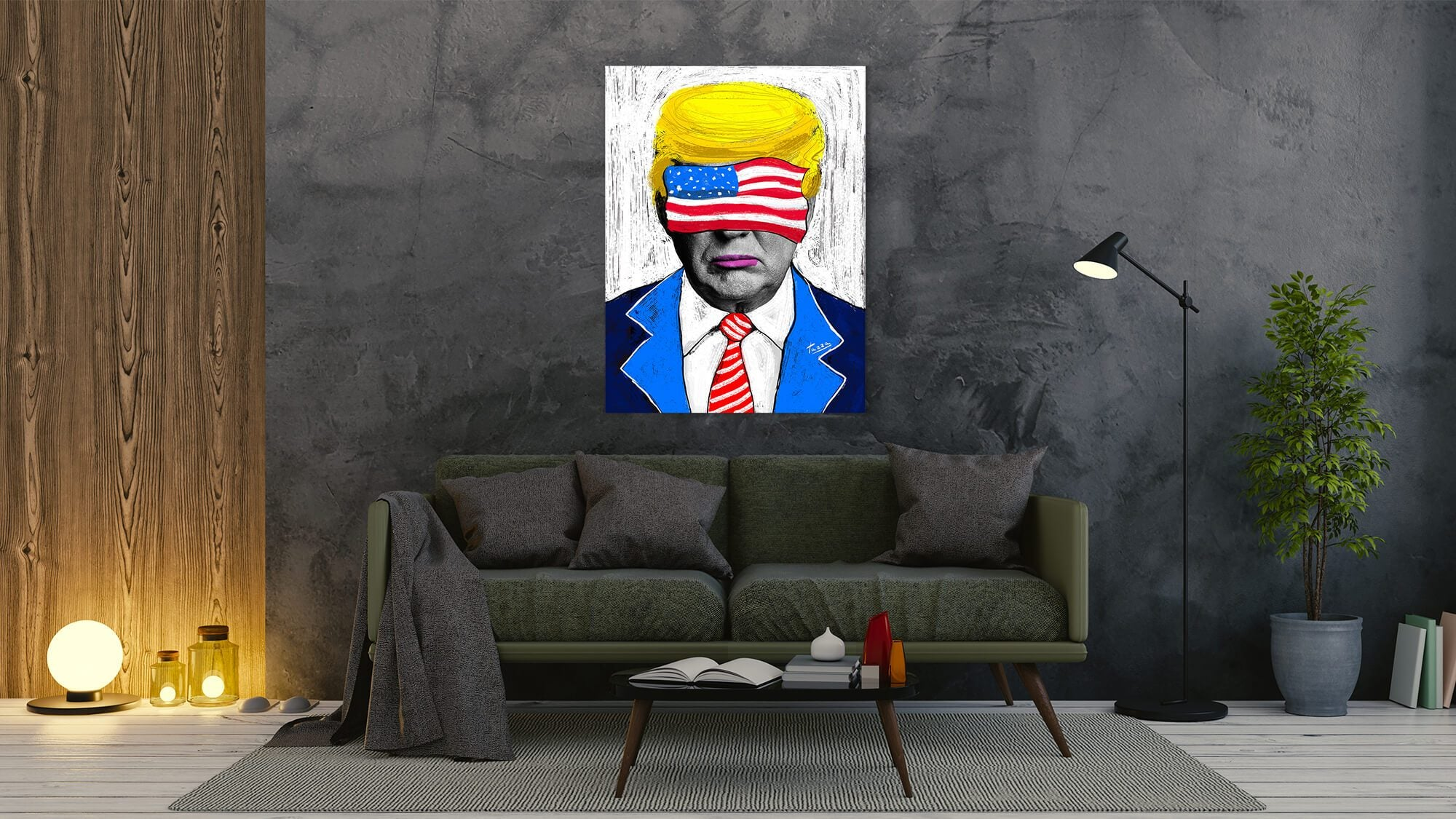 My Dear Donald - canvas-to-the-people - Exclusive Canvas Art Shipped Globally