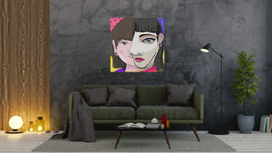 Girl - Woman - canvas-to-the-people - Exclusive Canvas Art Shipped Globally