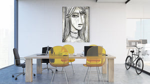 Muchacha - canvas-to-the-people - Exclusive Canvas Art Shipped Globally