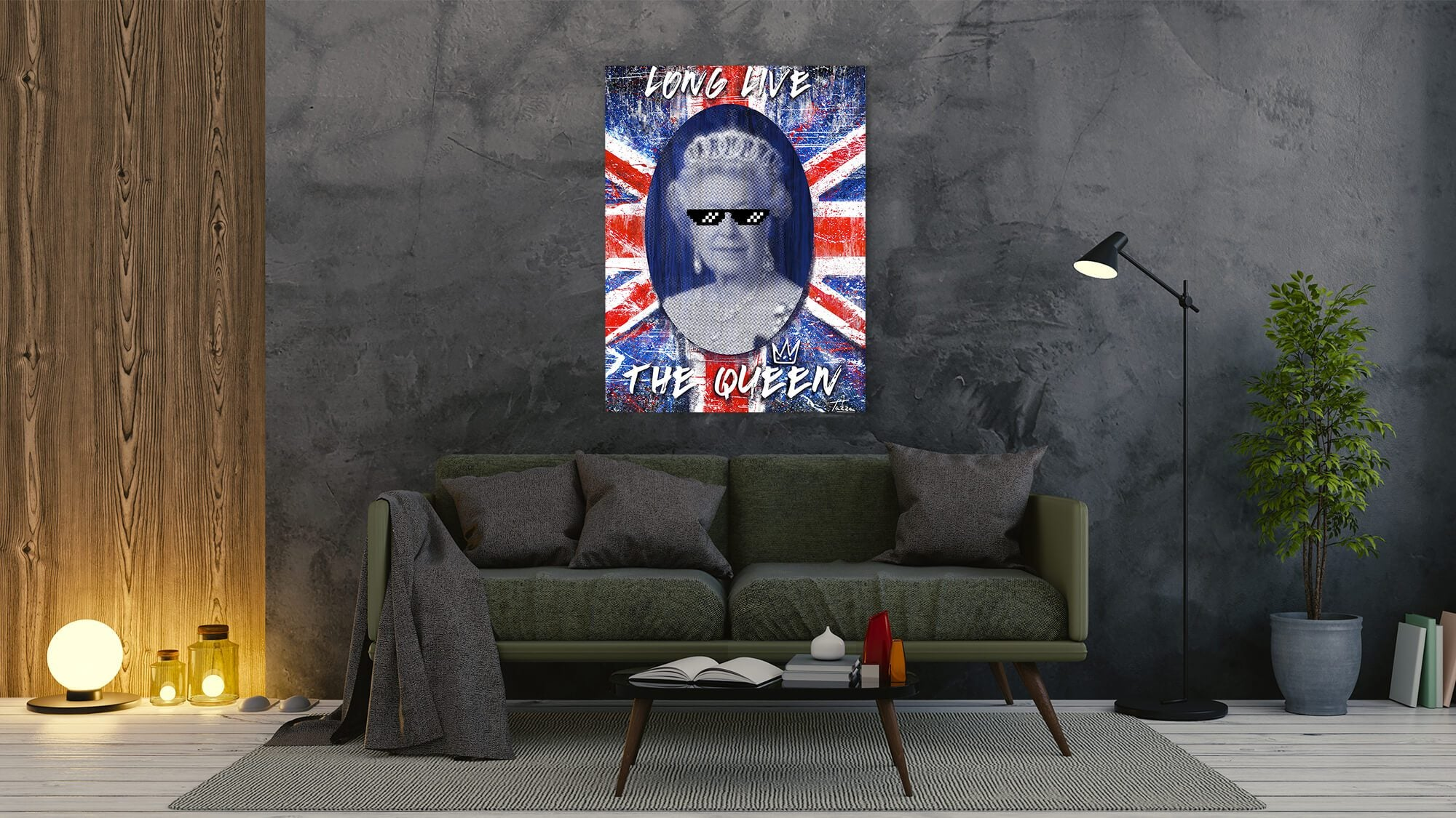Viral Queen - canvas-to-the-people - Exclusive Canvas Art Shipped Globally