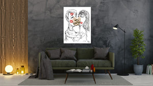 El Beso - canvas-to-the-people - Exclusive Canvas Art Shipped Globally