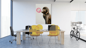 Bubble Gum Monkey - canvas-to-the-people - Exclusive Canvas Art Shipped Globally