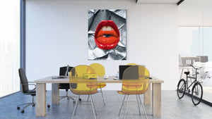 Lips #2 - canvas-to-the-people - Exclusive Canvas Art Shipped Globally