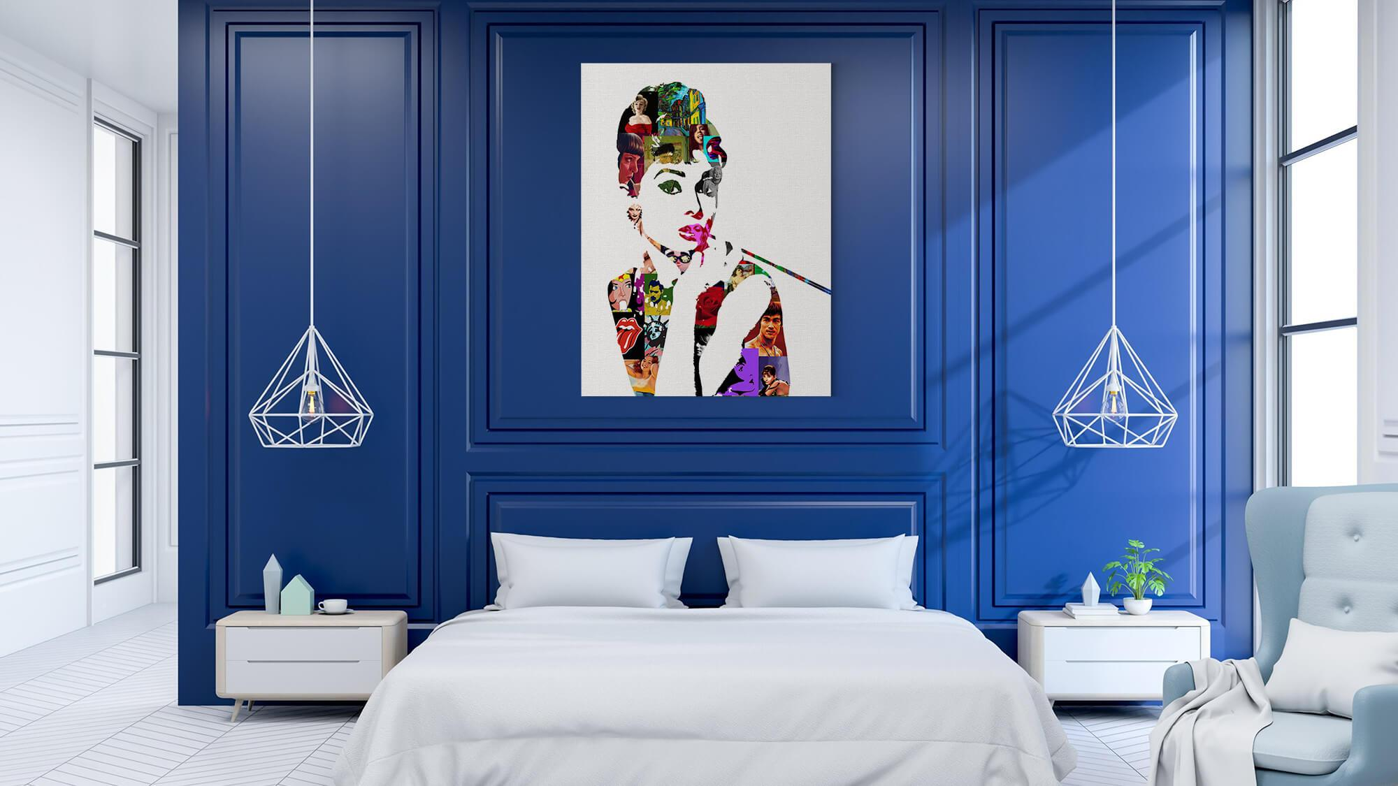 Audrey - canvas-to-the-people - Exclusive Canvas Art Shipped Globally