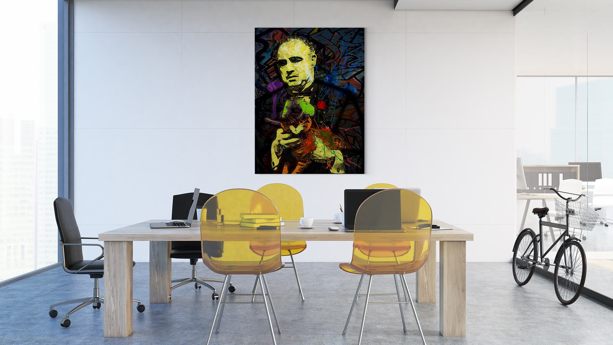The Godfather - canvas-to-the-people - Exclusive Canvas Art Shipped Globally