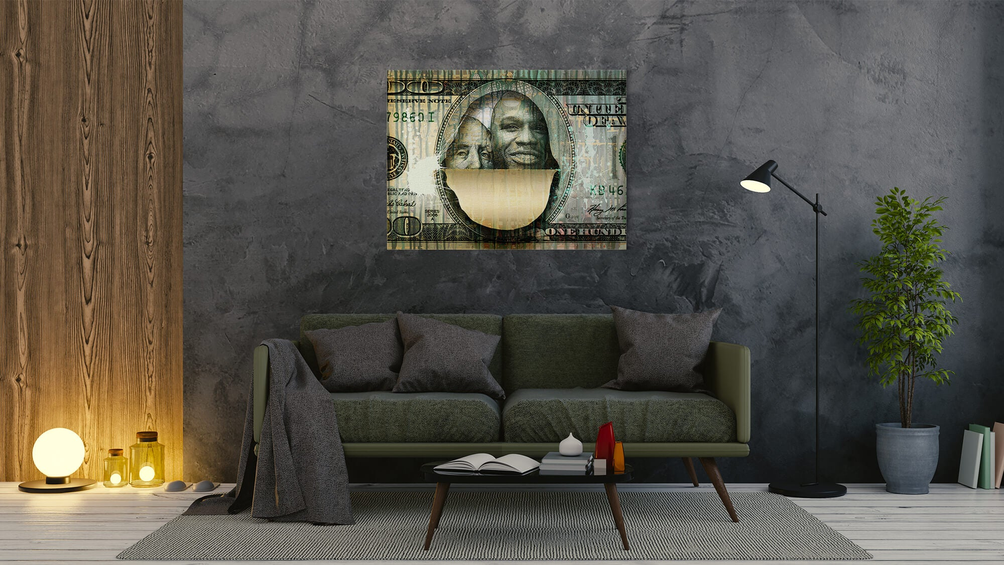 $Floyd$ - canvas-to-the-people - Exclusive Canvas Art Shipped Globally