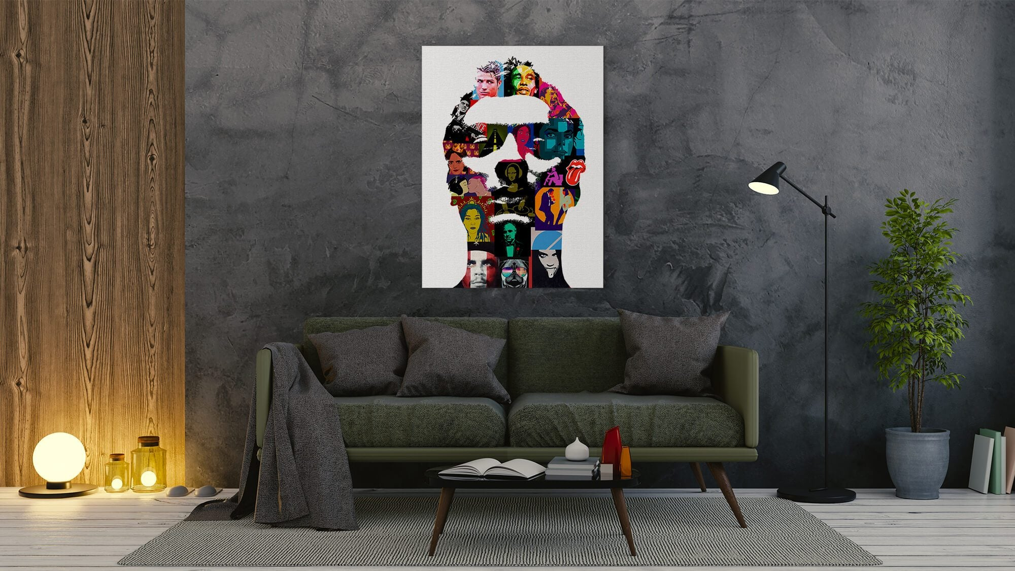 Jude - canvas-to-the-people - Exclusive Canvas Art Shipped Globally
