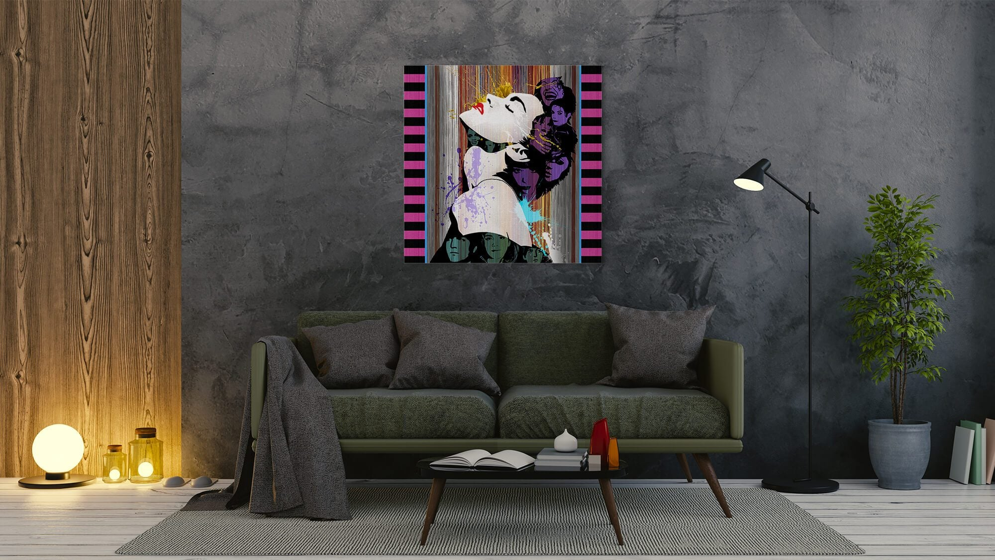Madonna - canvas-to-the-people - Exclusive Canvas Art Shipped Globally