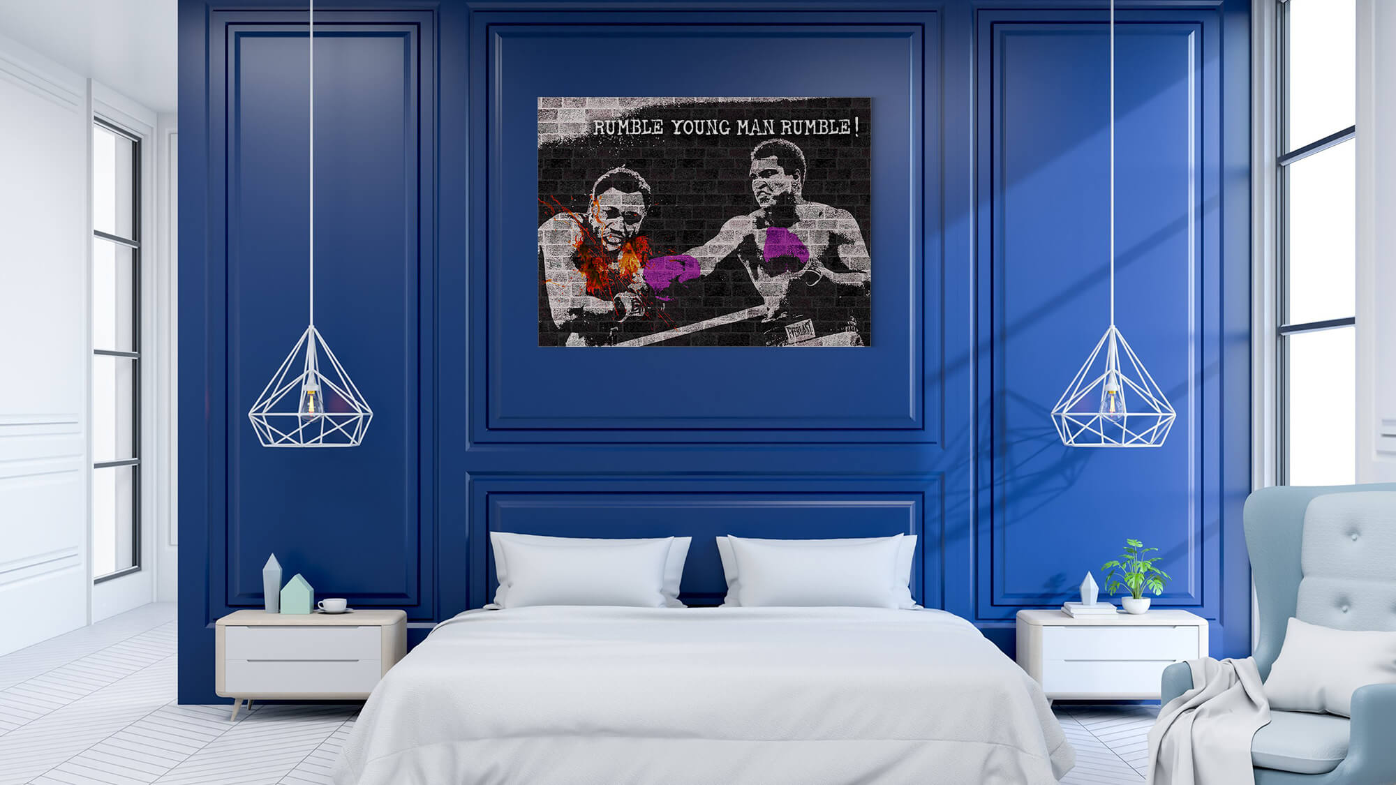 Muhammad Ali - canvas-to-the-people - Exclusive Canvas Art Shipped Globally