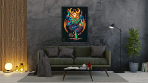 Zodiac - Aries - canvas-to-the-people - Exclusive Canvas Art Shipped Globally
