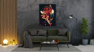 Zodiac - Cancer - canvas-to-the-people - Exclusive Canvas Art Shipped Globally