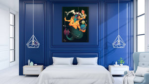 Zodiac - Capricorn - canvas-to-the-people - Exclusive Canvas Art Shipped Globally