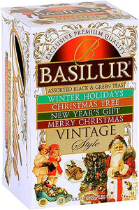 Basilur Tea Vintage Collection Assorted 20EN