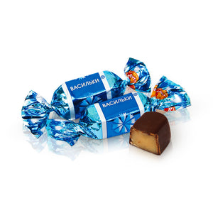 Rot Front Chocolate Candies Vasilki 250g (flavoured with creme brule, nuts, cognac)
