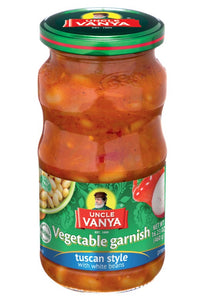 Uncle Vanya Vegetable garnish Tuscany style 460 ml jar