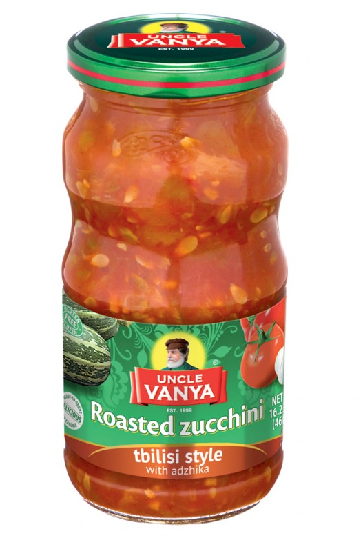 Uncle Vanya Roasted Zucchini Tbilisi style with adzhika 460 ml jar