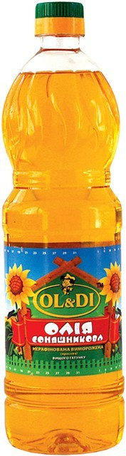 OL&DI Sunflower Oil Cold Pressed Unrefined 1L