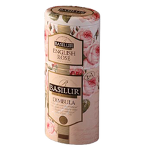 Load image into Gallery viewer, Fruit & Flowers Double tin 125g Green/black tea