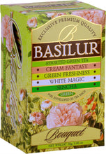 Load image into Gallery viewer, Basilur Tea Bouquet Assorted Green Tea 20 EN tea bags